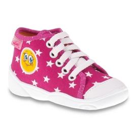 Befado pantofi pentru copii colorate 218P055 roz