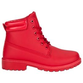 Seastar Pantaloni roșii pentru femei roșu