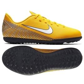 Nike Mercurial Vapor 12 Club Pantofi de fotbal Neymar Tf Jr AO9478-710