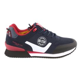 Negru Big Star 174175 pantofi negri