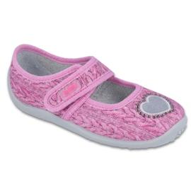 Pantofi de copii Befado 945X325 roz