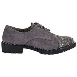 Bello Star gri Pantofi de piele elegant