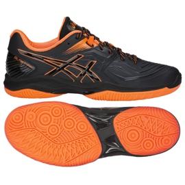 Pantofi de handbal Asics Blast Ff M 1071A002-601 negru roșu