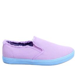 Violet Purple femei scurte NB166 Purple
