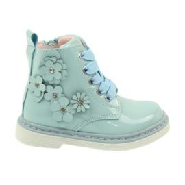 American Club albastru Cizme de ghete americane cizme pentru pantofi pentru copii 1424