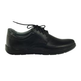 Negru Pantofi bărbați Riko 849 negri