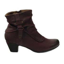 Boots maro super-confortabil Aloeloe