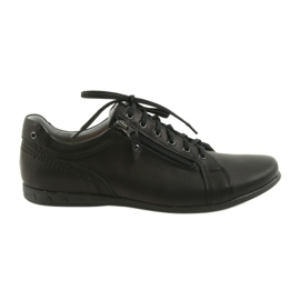 Negru Pantofi bărbați Riko pentru bărbați 856