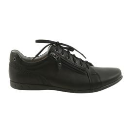 Pantofi bărbați Riko pentru bărbați 856 negru