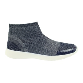 American Club Pantofi sport american pentru femei 17044 bleumarin