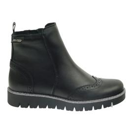 Ren But Boots izolat Ren Dar 4379 negru