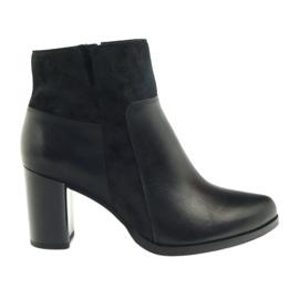 Pantofi de iarna Marco pe post 902 negru