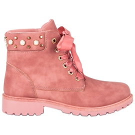McKey roz Pink Casual Trappers
