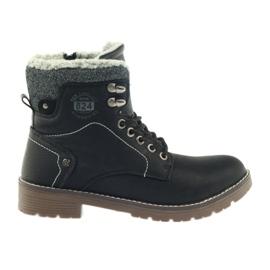 Negru Pantofi negri DK2025