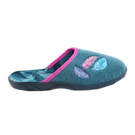 Befado pantofi femei colorate 235D166