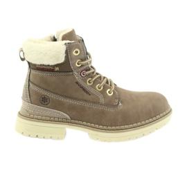 American Club Cizme americane cizme cizme de iarna 708122 maro