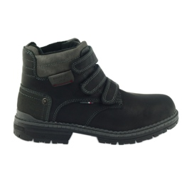 American Club negru Cizme americane de cizme de iarna 708139