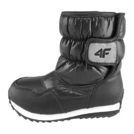 Pantofi de iarnă 4f Jr HJZ18-JOBDW001 negru
