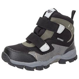 Pantofi de iarnă 4f Jr HJZ18-JOBMW002 negru