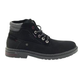 American Club negru Trappers american pantofi de iarna trekking