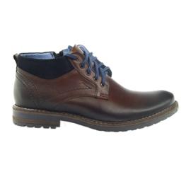 Pantofi de culoare neagră Nikopol 686