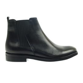 Edeo cizme de culoare neagră 3244 negru