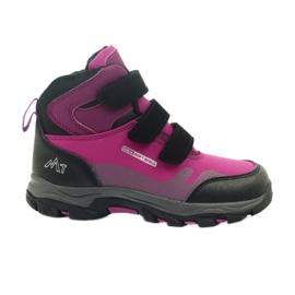 Mttrek Velcro boots MT TREK 011 fuchsia