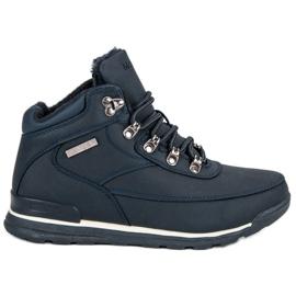 Albastru Pantofi pentru femei izolate MCKEYLOR