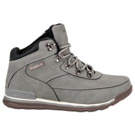 Pantofi pentru femei izolate MCKEYLOR gri