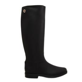 Rainy Show Boots de ploaie negru D59 Negru