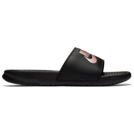 Negru Papuci Nike Benassi Do It W 343881-007