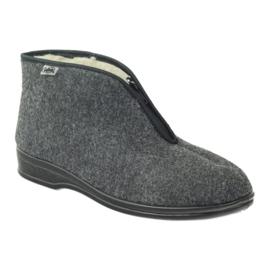Gri Pantofi pentru bărbați Befado încălțăminte calde 100M047