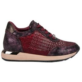 Kylie Pantofi de sport la modă roșu