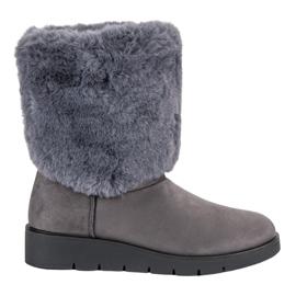 Kylie Modă încălțăminte de iarnă gri