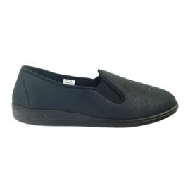 Negru Pantofi Befado pantofi pentru bărbați aderenți pentru bărbați 013M312