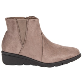Kylie Suede Boots maro
