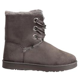 Kylie Legat cizme de zăpadă gri