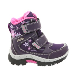 American Club violet Cizme americane de cizme de iarna cu membrana 3121