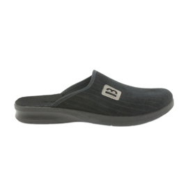 Befado bărbați papuci papuci 548m015 negru