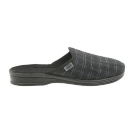 Befado bărbați pantofi papuci 089M408 negru