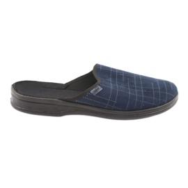 Bleumarin Pantofi pentru bărbați Befado pu 089M409
