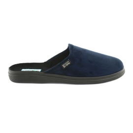 Befado bărbați pantofi pu 125M006 bleumarin