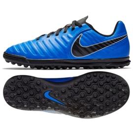 Pantofi de fotbal Nike Tiempo Legend 7 Club Tf Jr AH7261-400