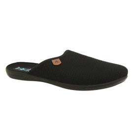 Negru Papuci Adanex 21115 papuci