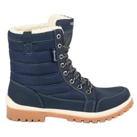 Albastru MCKEYLOR cizme de zăpadă