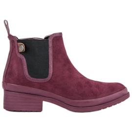 Kylie Incaltaminte pentru cizme Jodhpur roșu