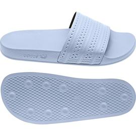 Alb Adidas Originale Adilette flip flops în BA7539