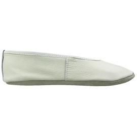 Alb Gymnastic pantofi de balet