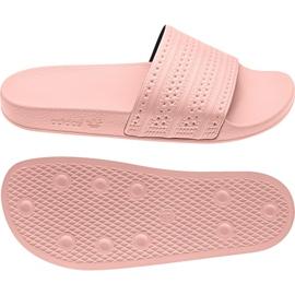 Roz Adidas originale papuci adilette în BA7538