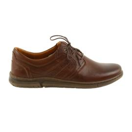 Pantofi pentru barbati Riko cu incaltaminte mica 870 maro